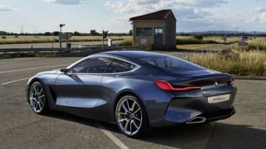 BMW Concept 8 Series - rear static