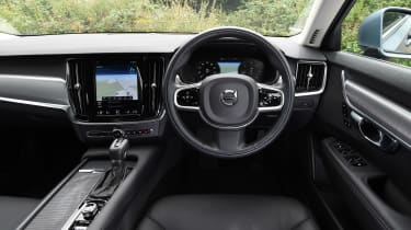 Volvo S90 long term test first report - dash