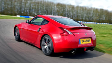 Nissan 370Z - rear cornering