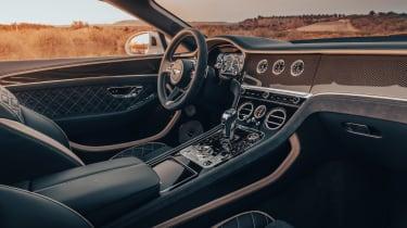Bentley Continental GT Speed Convertible - cabin