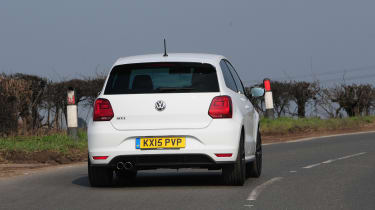 VW Polo GTI 2015 action