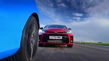 Toyota GR Yaris vs Ford Fiesta ST Edition - wheel