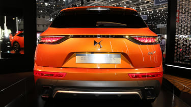 DS 7 Crossback Geneva show - full rear