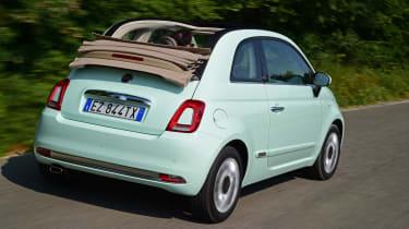 Fiat 500C 2015 rear