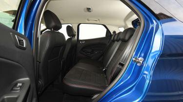 Ford EcoSport - rear seats