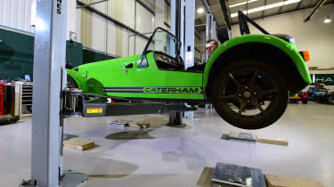 Long-term test review: Caterham 270S lifted