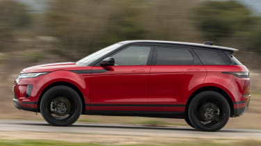 Range Rover Evoque - side tracking