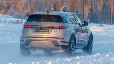 Range Rover Evoque prototype - rear