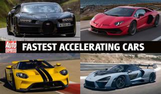 Fastest Accelerating Cars - header