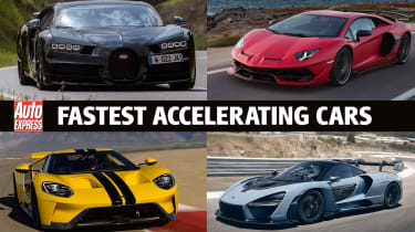 Fastest Accelerating Cars - header