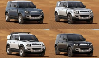 Land Rover Defender builds