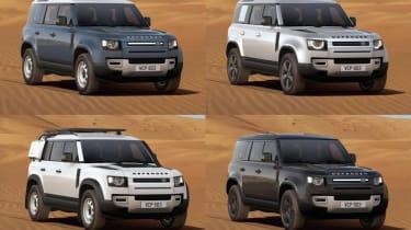 Land Rover Defender builds