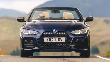 BMW M440i Convertible - front cornering