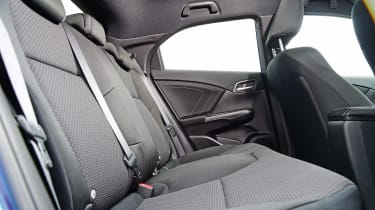 Honda Civic - rear seats