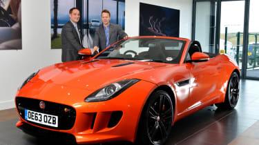 Jaguar F-Type long termer delivery