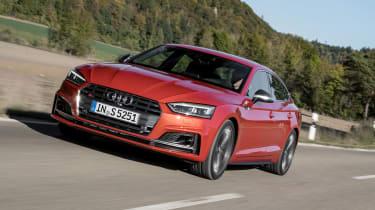 Audi S5 Sportback - front action