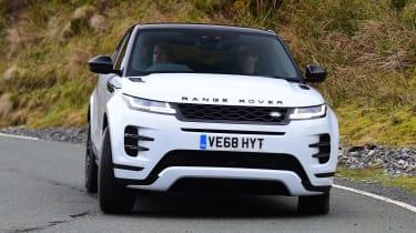 Range Rover Evoque - front action