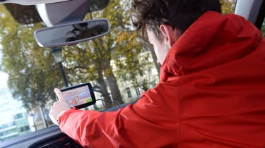 Clever car tech that can save you money - sat nav Martin