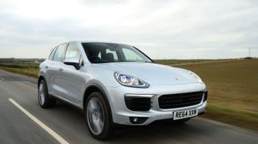 Porsche Cayenne - front tracking