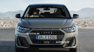 Audi A1 - leak grey full front