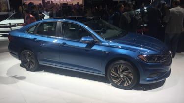 VW Jetta revealed - side
