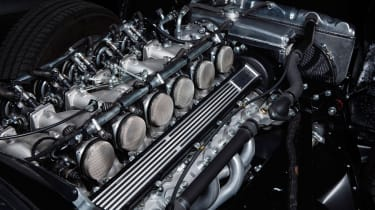 """Unleashed"" Jaguar E-Type restomod - engine"