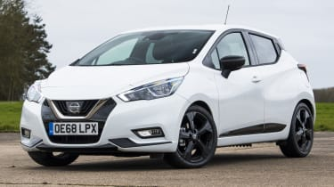 Nissan Micra N-Sport - front stationary
