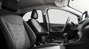 Ford Ka+ - front seats