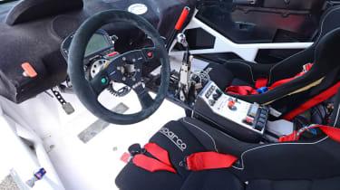 World Rallycross RX2 - interior