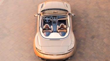 Aston Martin DB11 Volante - above