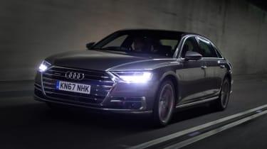 Audi A8 - front action
