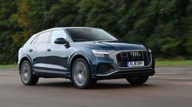 Audi Q8 Mpg Co2 Emissions Road Tax Insurance Groups Auto Express