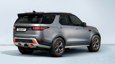 Land Rover Discovery SVX - rear