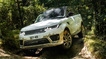 Range Rover Sport PHEV - off-road