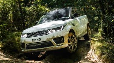 Range Rover Sport PHEV - off-road