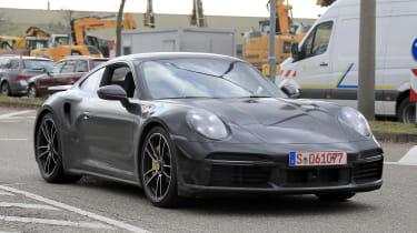 Porsche 911 Turbo S - spyshot 1