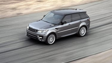 Land Rover Range Rover Sport action