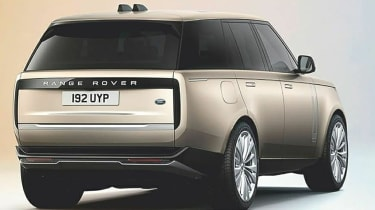 Range Rover leak - rear