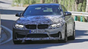 BMW M4 2017 spy shot 3