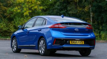 Hyundai Ioniq - rear static