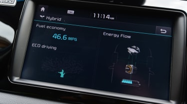 Kia Niro - infotainment screen