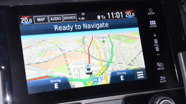 Honda Civic long-term review - satnav