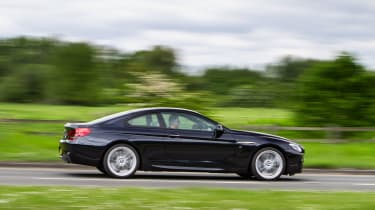 BMW 640d Coupe - panning