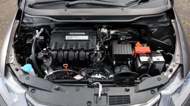 Honda Insight under the bonnet