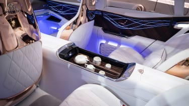Vision Mercedes-Maybach Ultimate Luxury concept - rear interior