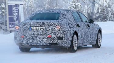 Mercedes S-Class Spies - rear