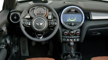 MINI Cooper S Convertible 2016 review - dashboard
