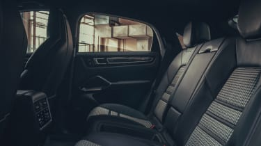 Porsche Cayenne Coupe - rear seats