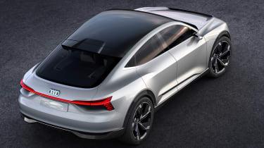 Audi e-tron Sportback concept - above