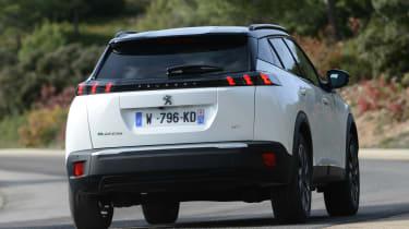 Peugeot e-2008 - rear